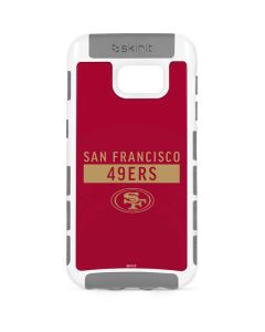 San Francisco 49ers Red Performance Series Galaxy S7 Cargo Case