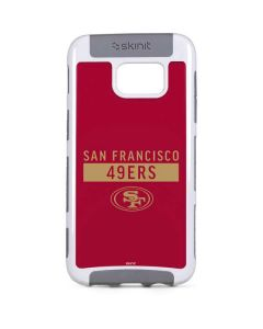 San Francisco 49ers Red Performance Series Galaxy S7 Edge Cargo Case