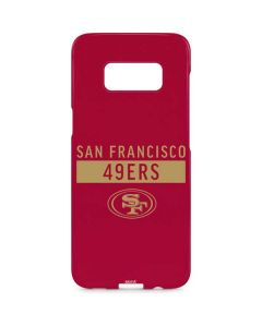 San Francisco 49ers Red Performance Series Galaxy S8 Plus Lite Case