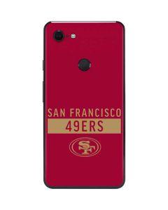 San Francisco 49ers Red Performance Series Google Pixel 3 XL Skin