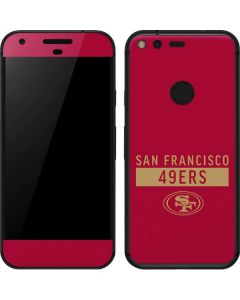San Francisco 49ers Red Performance Series Google Pixel Skin