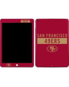 San Francisco 49ers Red Performance Series Apple iPad Skin