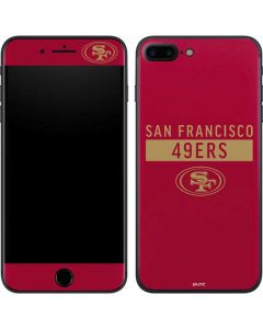 San Francisco 49ers Red Performance Series iPhone 7 Plus Skin