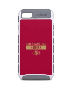 San Francisco 49ers Red Performance Series iPhone 8 Cargo Case