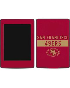 San Francisco 49ers Red Performance Series Amazon Kindle Skin