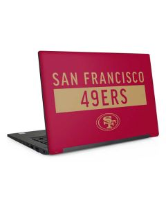 San Francisco 49ers Red Performance Series Dell Latitude Skin