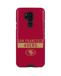 San Francisco 49ers Red Performance Series LG G7 ThinQ Pro Case