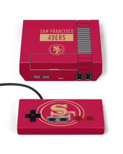 San Francisco 49ers Red Performance Series NES Classic Edition Skin