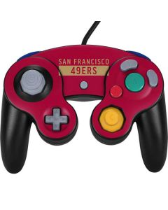 San Francisco 49ers Red Performance Series Nintendo GameCube Controller Skin
