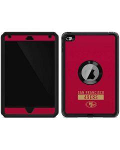 San Francisco 49ers Red Performance Series Otterbox Defender iPad Skin