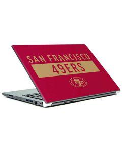 San Francisco 49ers Red Performance Series Portege Z30t/Z30t-A Skin