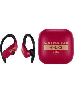 San Francisco 49ers Red Performance Series PowerBeats Pro Skin