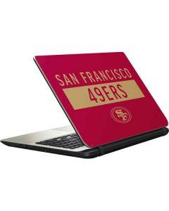 San Francisco 49ers Red Performance Series Satellite L50-B / S50-B Skin