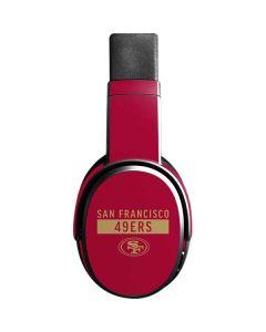 San Francisco 49ers Red Performance Series Skullcandy Crusher Wireless Skin