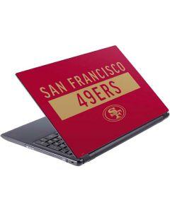 San Francisco 49ers Red Performance Series V5 Skin