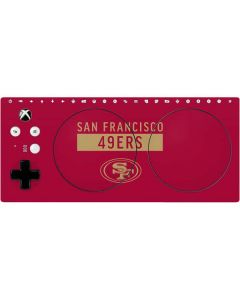 San Francisco 49ers Red Performance Series Xbox Adaptive Controller Skin