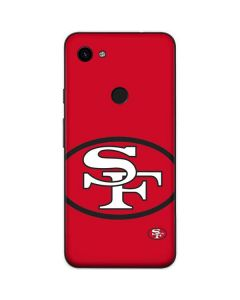 San Francisco 49ers Retro Logo Google Pixel 3a Skin
