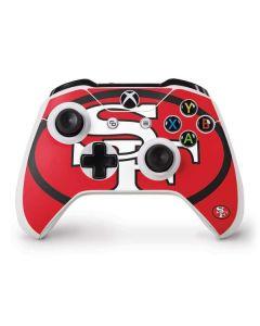 San Francisco 49ers Retro Logo Xbox One S Controller Skin