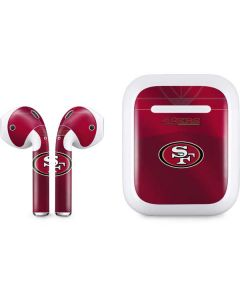 San Francisco 49ers Team Jersey Apple AirPods Skin