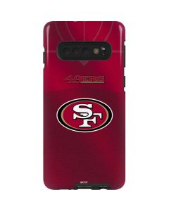 San Francisco 49ers Team Jersey Galaxy S10 Pro Case