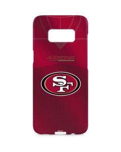 San Francisco 49ers Team Jersey Galaxy S8 Plus Lite Case