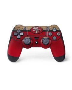 San Francisco 49ers Vintage PS4 Controller Skin