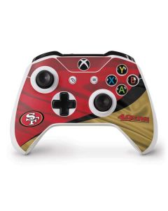 San Francisco 49ers Xbox One S Controller Skin