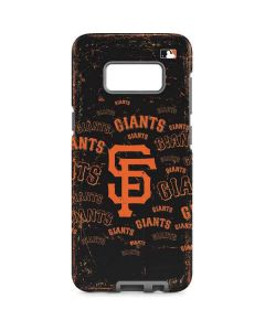 San Francisco Giants - Cap Logo Blast Galaxy S8 Pro Case