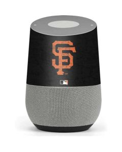 San Francisco Giants - Solid Distressed Google Home Skin
