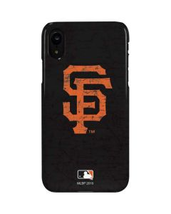 San Francisco Giants - Solid Distressed iPhone XR Lite Case