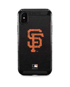San Francisco Giants - Solid Distressed iPhone XS Max Cargo Case