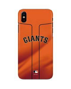 San Francisco Giants Alternate Home Jersey iPhone X Lite Case