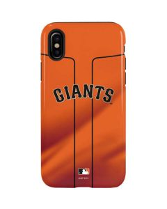 San Francisco Giants Alternate Home Jersey iPhone XS Pro Case
