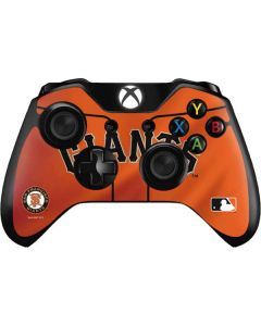 San Francisco Giants Alternate Home Jersey Xbox One Controller Skin