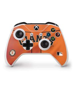 San Francisco Giants Alternate Home Jersey Xbox One S Controller Skin