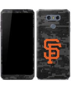 San Francisco Giants Digi Camo LG G6 Skin