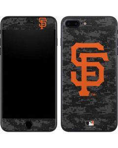 San Francisco Giants Digi Camo iPhone 8 Plus Skin