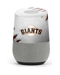 San Francisco Giants Game Ball Google Home Skin