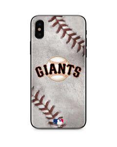 San Francisco Giants Game Ball iPhone X Skin