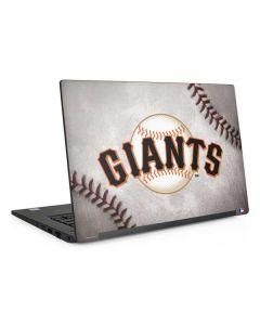 San Francisco Giants Game Ball Dell Latitude Skin