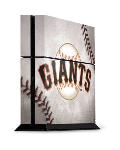San Francisco Giants Game Ball PS4 Console Skin