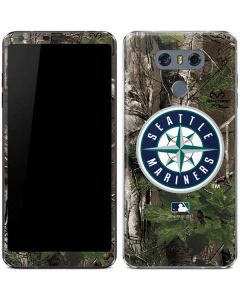 Seattle Mariners Realtree Xtra Green Camo LG G6 Skin