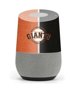 San Francisco Giants Split Google Home Skin