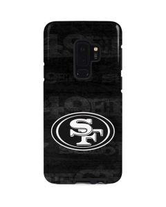 San Franciso 49ers Black & White Galaxy S9 Plus Pro Case