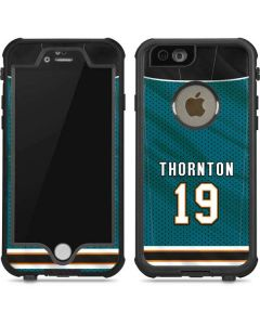 San Jose Sharks #19 Joe Thornton iPhone 6/6s Waterproof Case
