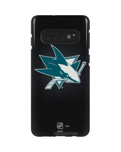San Jose Sharks Black Background Galaxy S10 Pro Case