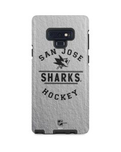 San Jose Sharks Black Text Galaxy Note 9 Pro Case