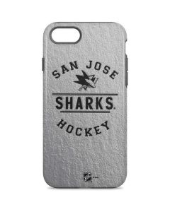 San Jose Sharks Black Text iPhone 8 Pro Case