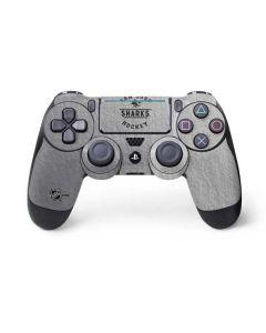 San Jose Sharks Black Text PS4 Pro/Slim Controller Skin