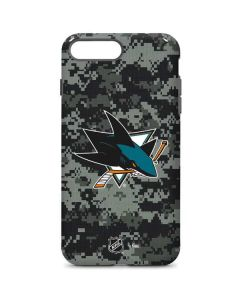 San Jose Sharks Camo iPhone 7 Plus Pro Case